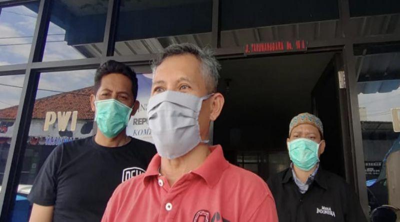 Paling Rentan Tertular Covid-19, Wartawan Tasikmalaya Rutin Lakukan Rapid Test dan Tetap Patuhi Prokes