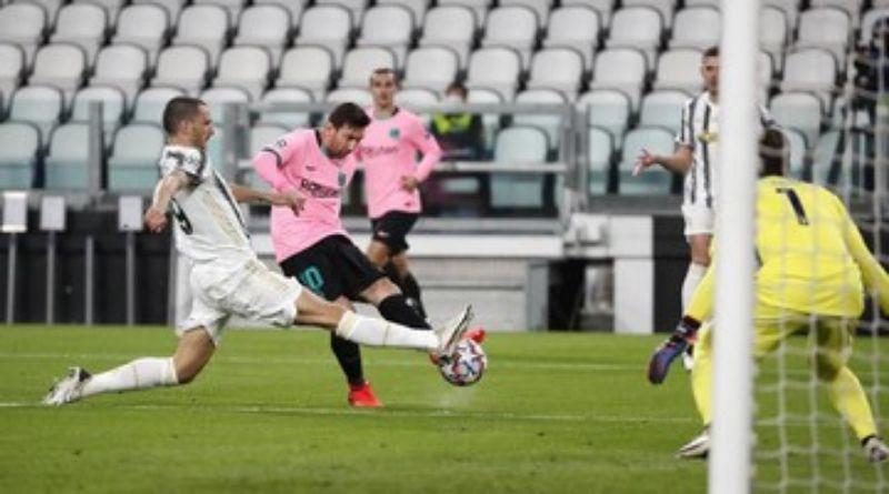 Hasil Liga Champions: Barcelona 2-0 Juventus, Messi Cetak Gol