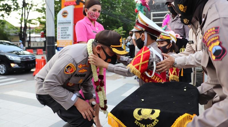 Polres Kendal Gelar Apel Farewell Serah Terima Jabatan Kapolres