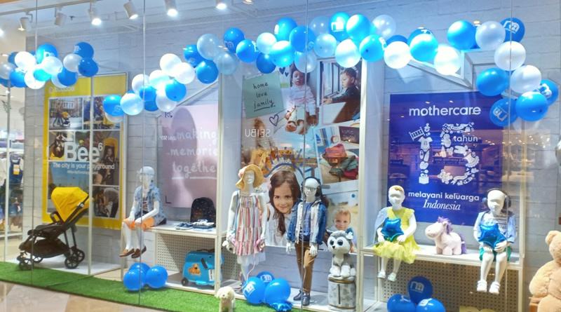 Mothercare Indonesia 15 th Anniversary, Konsisten Menjadi Sahabat Terbaik Orangtua dan Anak