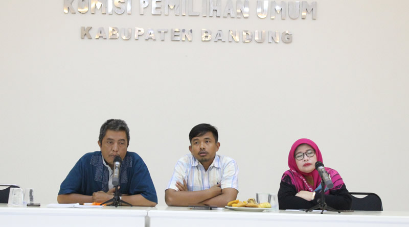 Melalui Coklit, KPU Kab. Bandung Sudah Melaksanakan 100 Persen Sosialisasi Kepada Pemilih