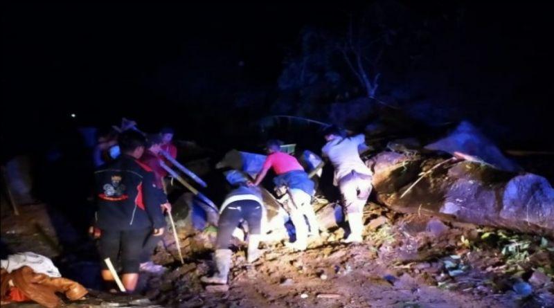Jalur Selatan Cianjur-Bandung Kembali Terputus Akibat Longsor Susulan
