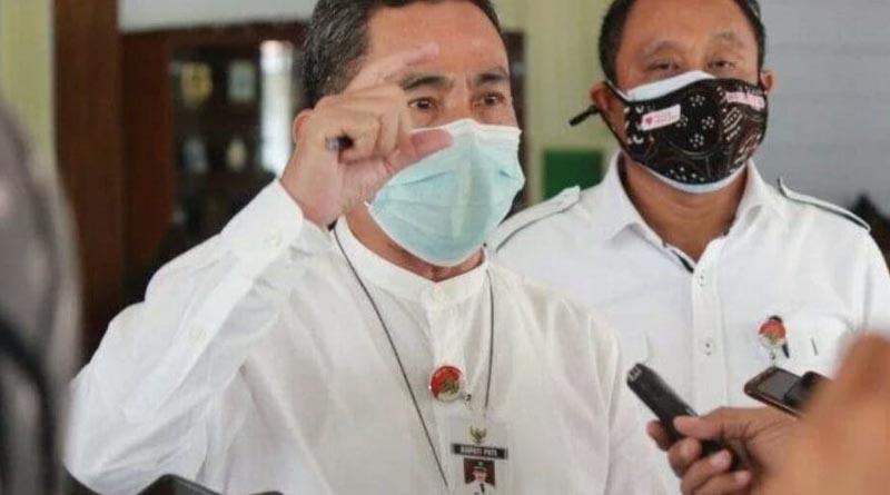 Bupati Haryanto Kasus Corona di Pati Peringkat 22 di Jawa Tengah