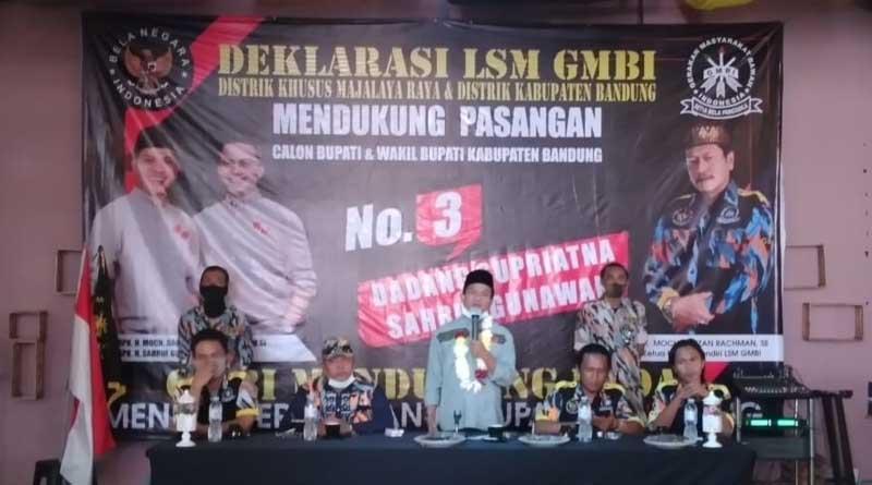 Kang DS Minta Semua Elemen Masyarakat Kawal Pilkada Kabupaten Bandung