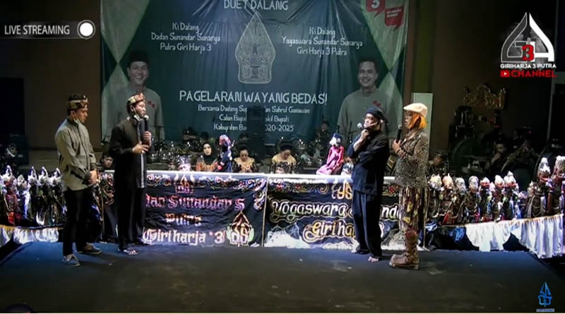 Paslon No. 3 Gelar Wayang Golek, Cecep Suhendar: Pilkada 2020 Terancam Batal