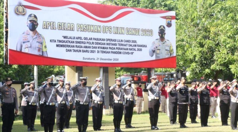 Polresta Surakarta Prioritaskan Pengamanan 16 Gereja dengan Jemaat Banyak