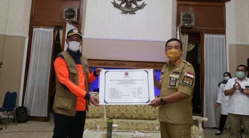 Bupati Cilacap Positif Covid-19, Sempat Rapat dengan Kepala BNPB Doni Monardo