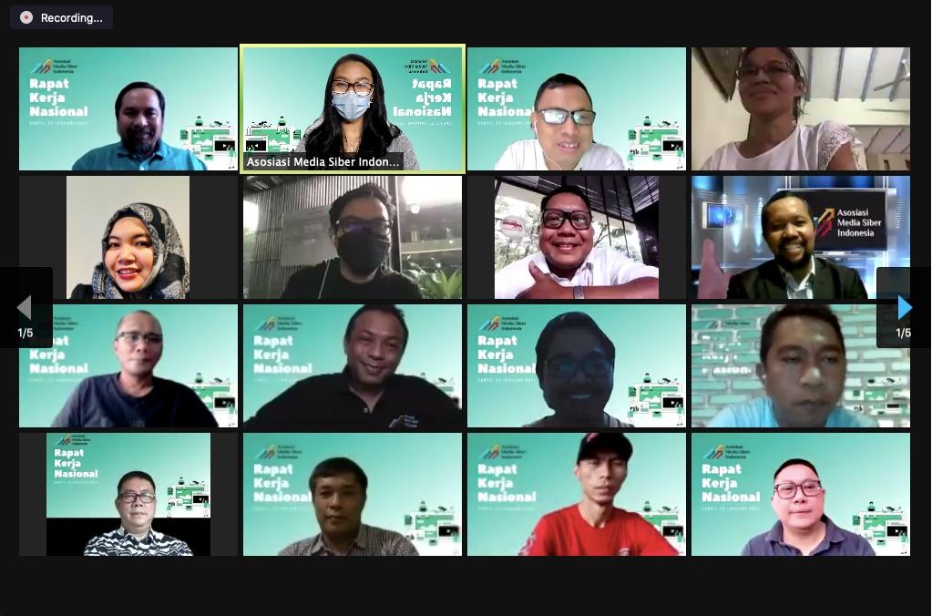 Rakernas AMSI 2021, Dorong Ekosistem Digital yang Adil bagi Media Online