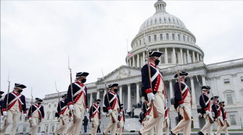 Jelang Pelantikan Presiden AS, FBI Periksa 25.000 Anggota Garda Nasional