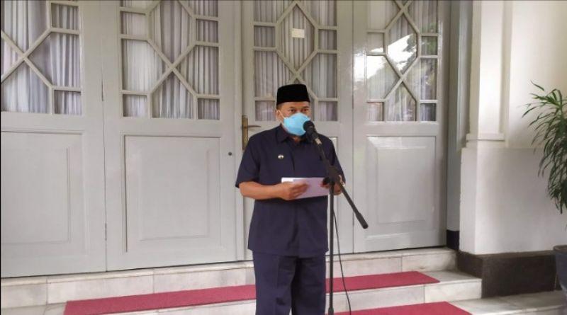 Kasus Covid-19 di Kota Bandung Naik, Presentasi Kematian Menurun