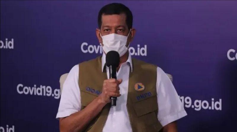 Ketua Satgas Doni Monardo Positif Terpapar Covid-19