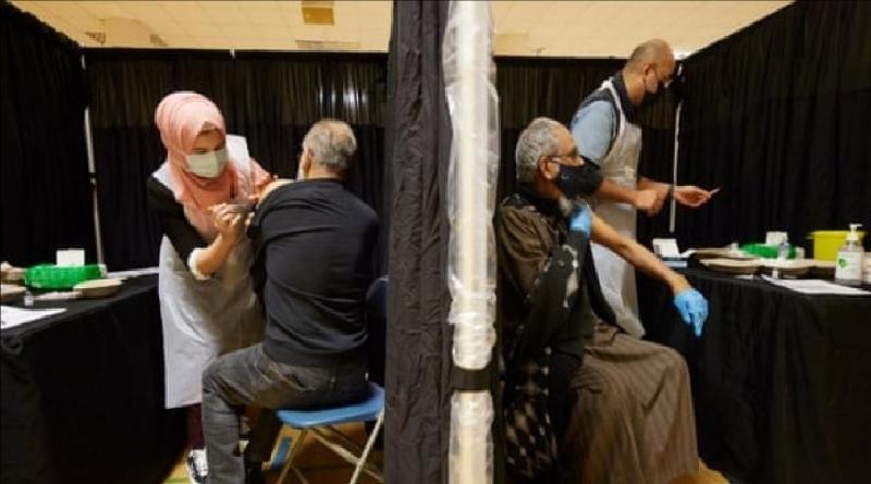 Imam di Inggris Imbau Muslim Lakukan Vaksinasi Covid-19