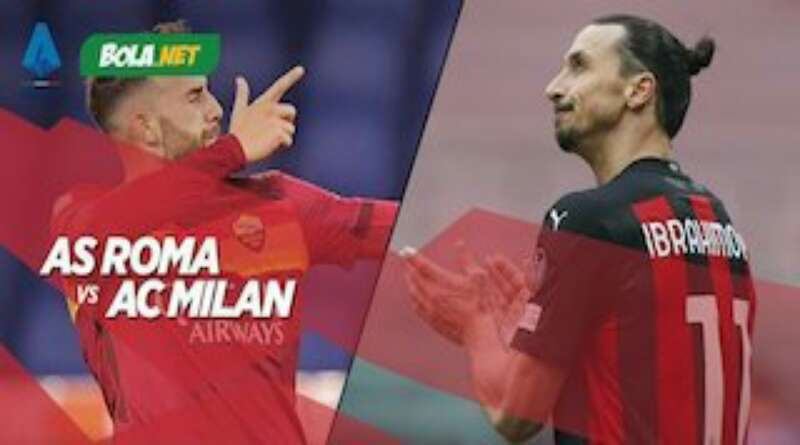 AS Roma vs AC Milan, Duel Hidup Mati Menuju Liga Champions