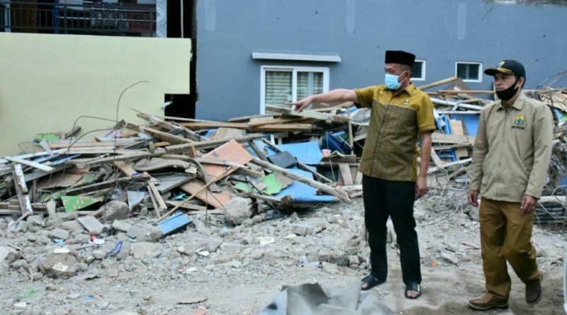 Ade Barkah Siap Bantu Pembangunan Kembali Ponpes Al-Madaroh Cianjur