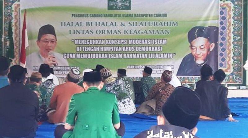 Sebagai Kader dan Mantan Pengurus NU, Ade Barkah Diterima Baik oleh Ulama di Jawa Barat