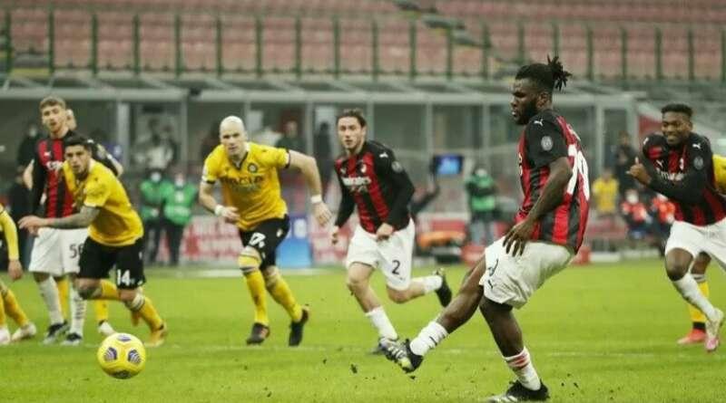 LIGA ITALIA: Selamatkan AC Milan dari Kekalahan, Franck Kessie Jadi Pahlawan