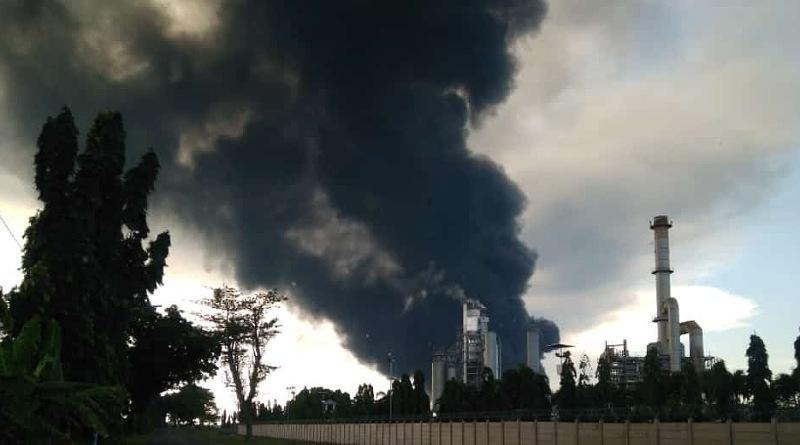 Ratusan Jiwa Mengungsi, Akibat Kebakaran Kilang Minyak Indramayu