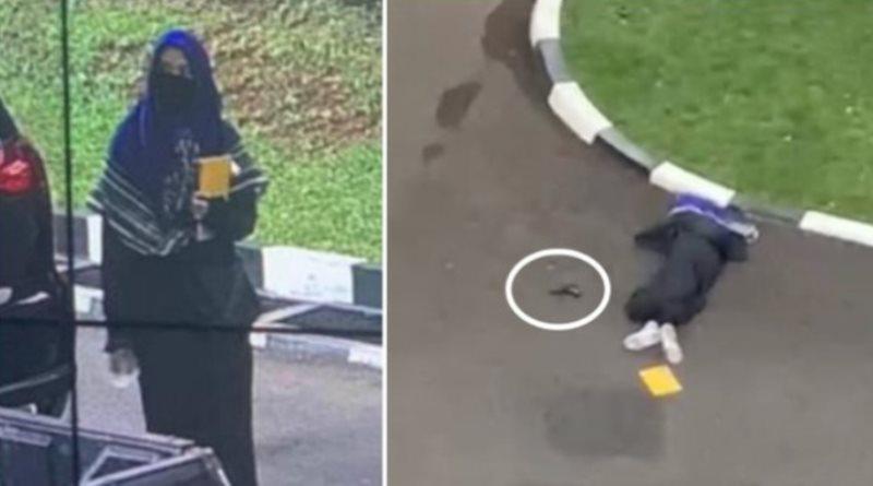 Wanita  Bercadar Terobos Mabes Polri, Tewas Ditembak Setelah Letuskan Pistol