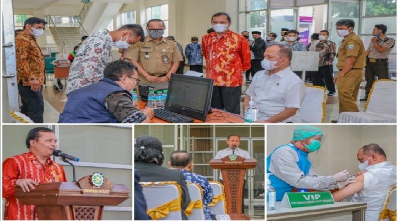 1.435 Dosen dan Pegawai UIN Sunan Gunung Djati Bandung Ikuti Vaksinasi Covid-19 Tahap Pertama