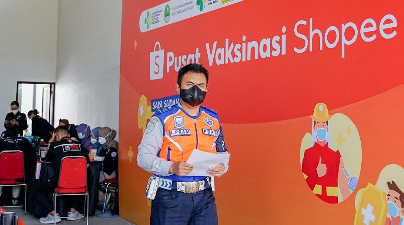 Guna Percepat Pemulihan Ekonomi, Shopee Hadirkan Pusat Vaksinasi Covid -19 di Bandung