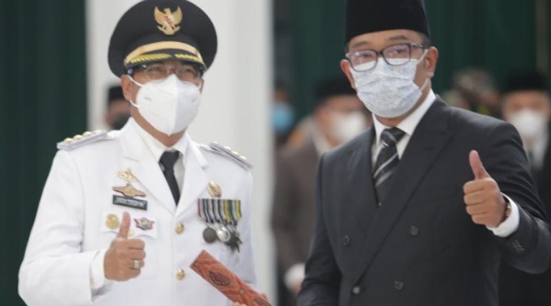 Dedi Taufik Resmi Dilantik Jadi Pj. Bupati Bandung