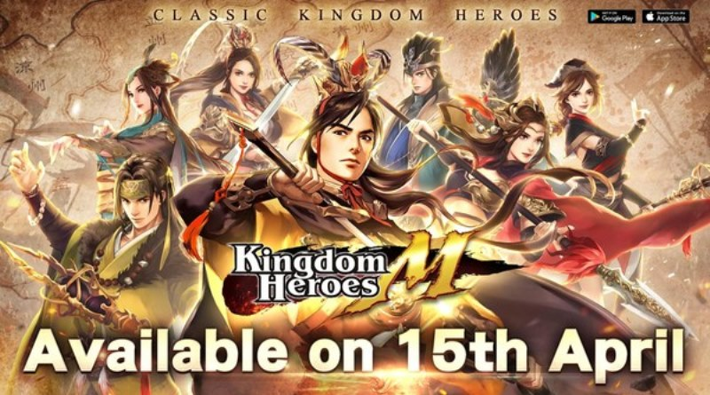 "Mobile Game Legendaris ""Kingdom Heroes M"" Resmi Diluncurkan di iOS dan Android PChomeSEA"