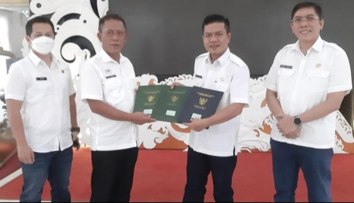 Bupati Bandung Launching Percepatan Penyelesaian Sertifikat Aset Milik Pemkab