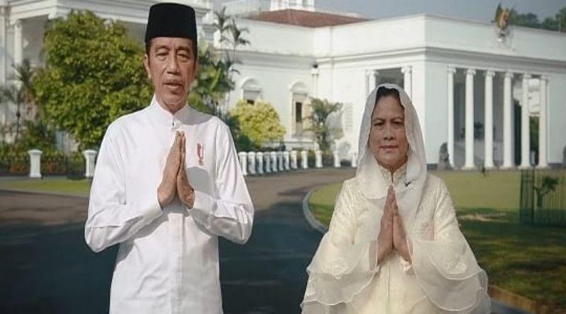 Ucapkan Selamat Idulfitri, Jokowi: Momentum untuk Bangkit dan Menang Lawan Covid-19
