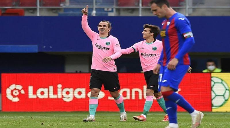 LIGA SPANYOL: Barcelona Tutup Musim dengan Menang 1-0 atas Eibar