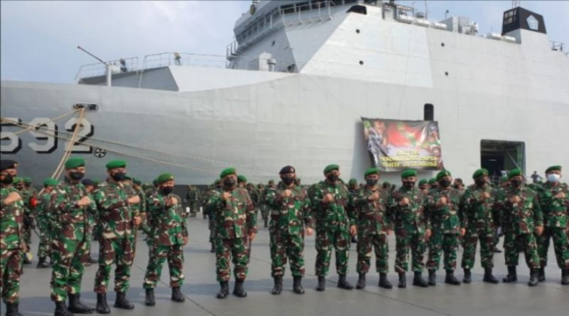 """""""Pasukan Setan"""" Kodam III/Siliwangi Diterjunkan ke Papua"""
