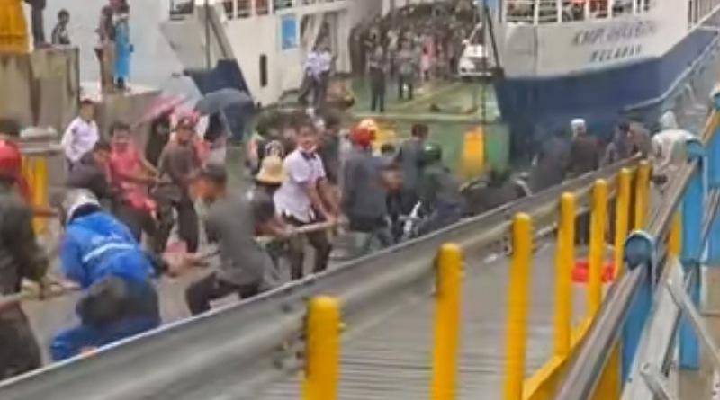 Jembatan Penghubung Kapal Putus, Mobil Avanza Terjun ke Danau Toba, Satu Orang Tewas