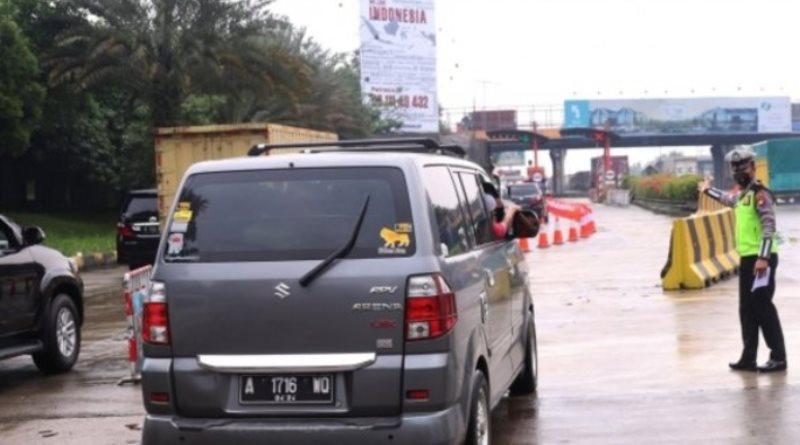 Antisipasi Mudik Lokal di Bandung Polisi Berlakukan Sistem Buka Tutup Jalan
