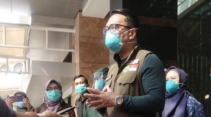Cek RSUD Al Ihsan, Ridwan Kamil : Jabar Siapkan 2.400 Tempat Tidur