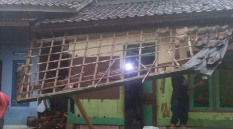 Dua Kecamatan di Kabupaten Sukabumi Diterjang Bencana Alam