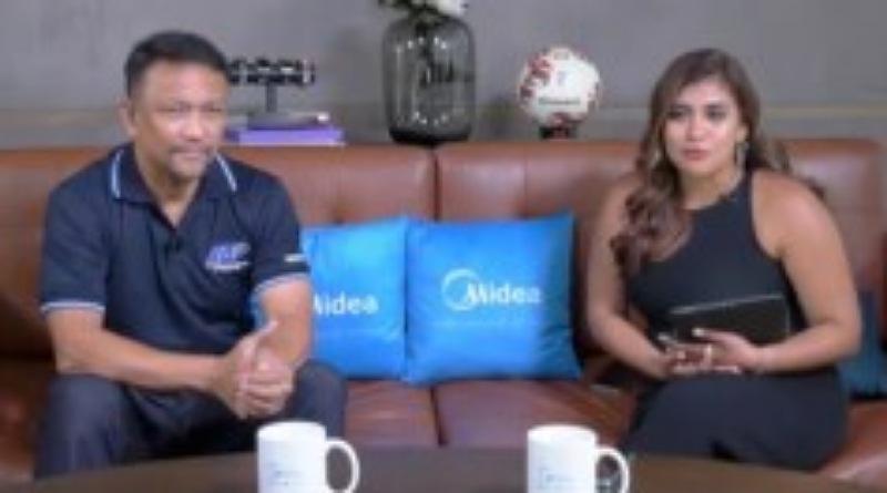 Fandi Ahmad, Legenda Sepak Bola Singapura Hadir pada Launching Midea sebagai Sponsor Resmi dalam AFF Suzuki Cup 2020