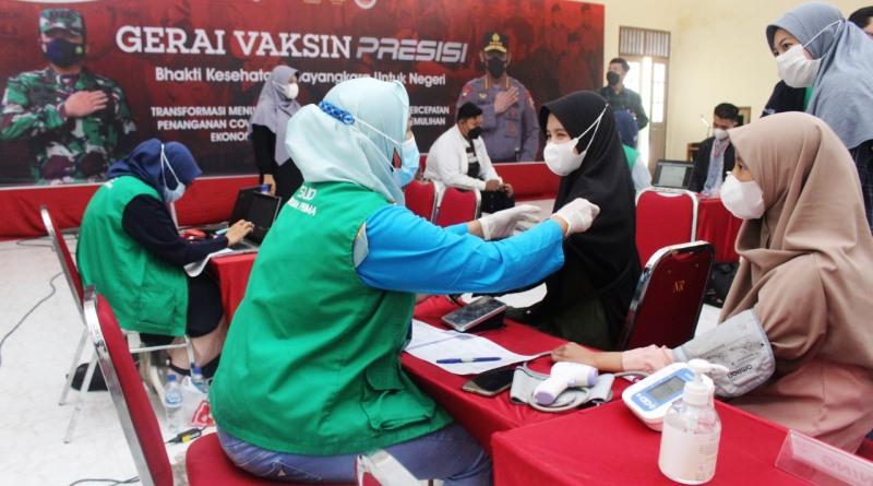 Bekerjasama dengan LDII, Polda Jatim Gelar 'Gerai Vaksin Presisi Berbasis Pesantren'