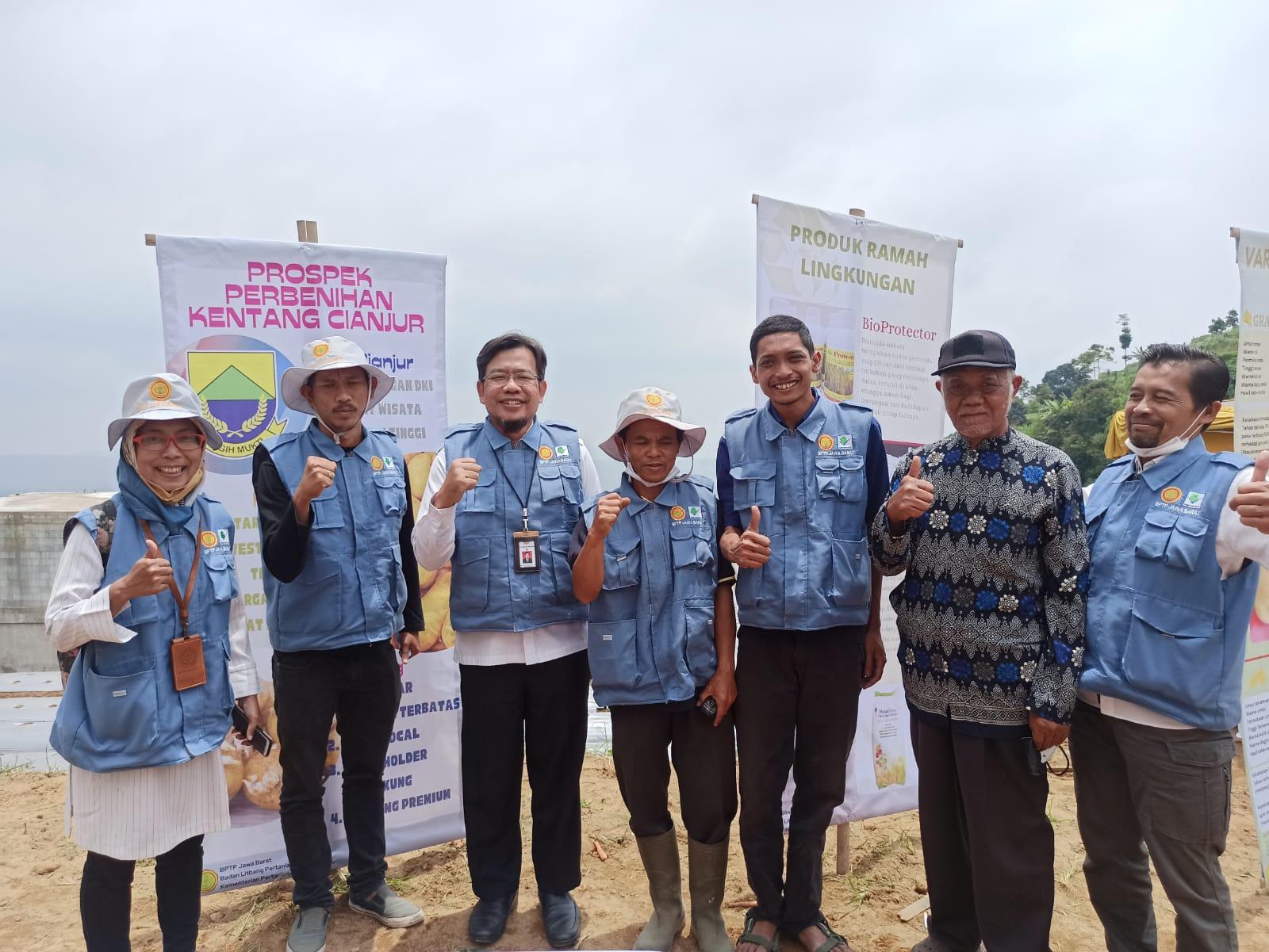 Melalui Tanam Perdana, Kabupaten Cianjur Diharapkan Bisa Jadi Sentra Benih Kentang