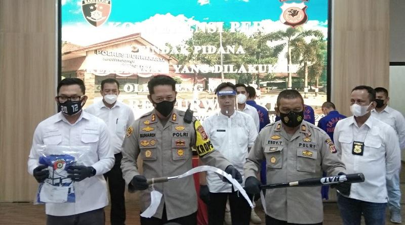 3 Anggota Geng Motor Ditangkap Polisi Keroyok Warga Purwakarta Secara Brutal