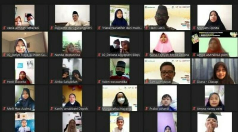 Ratusan Anak Ikuti Lomba Baca Al Quran Secara Virtual