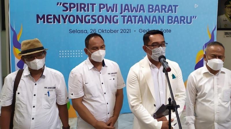 Kang Emil Dorong PWI Tingkatkan UKW Bagi 1.000 Wartawan di Jabar